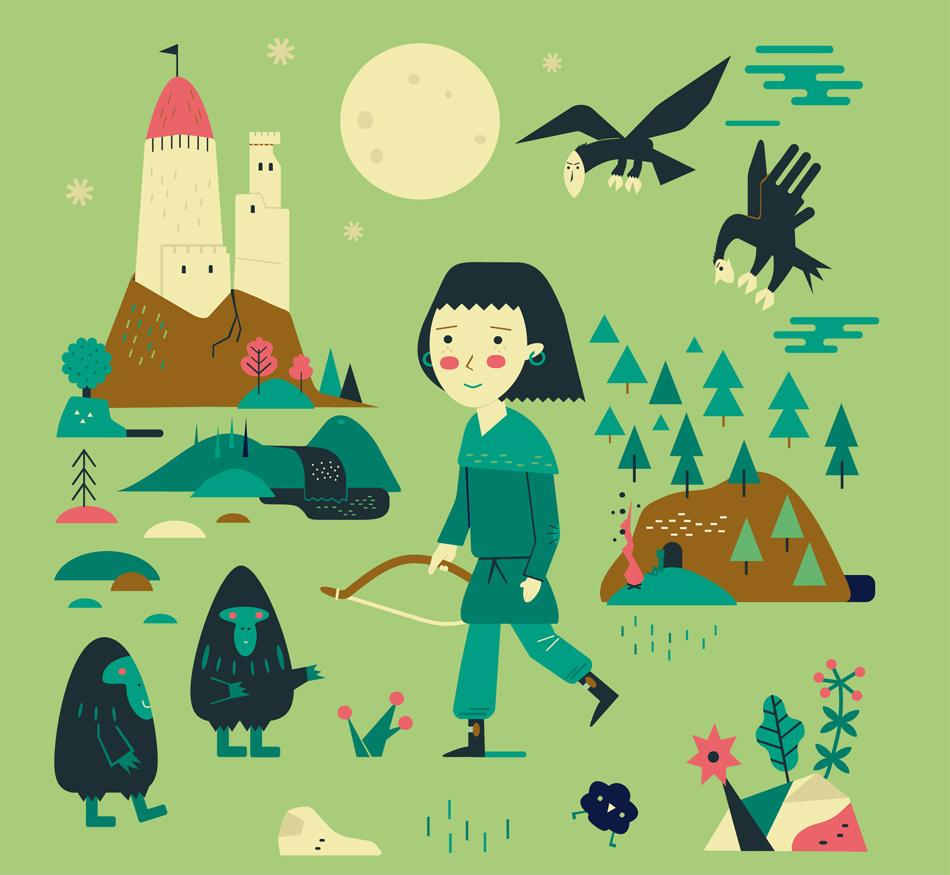 Fantasy Book Cover Illustration Jobs : Schnuppe work illustrations
